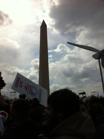 #ForwardOnClimate Rally